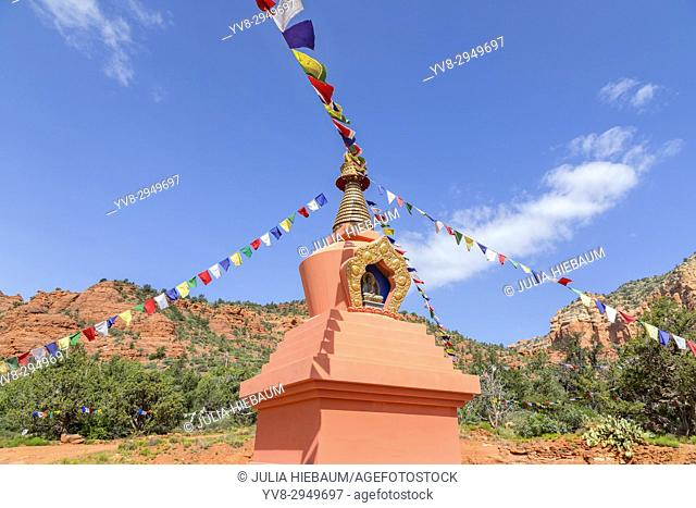 Amitabha Stupa in Sedona, Arizona