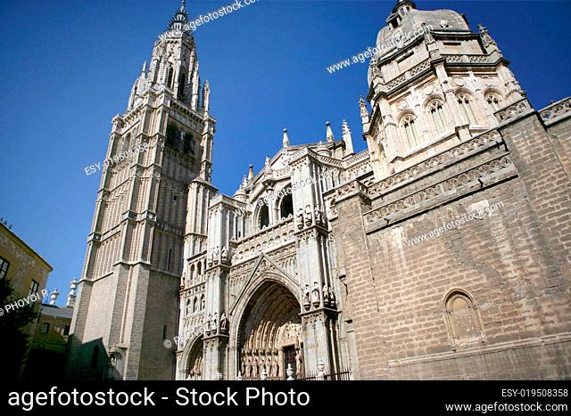 Saint Mary's Cathedral of Toledo, Spain