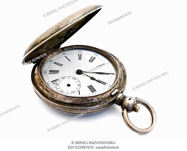 silver pocket watch