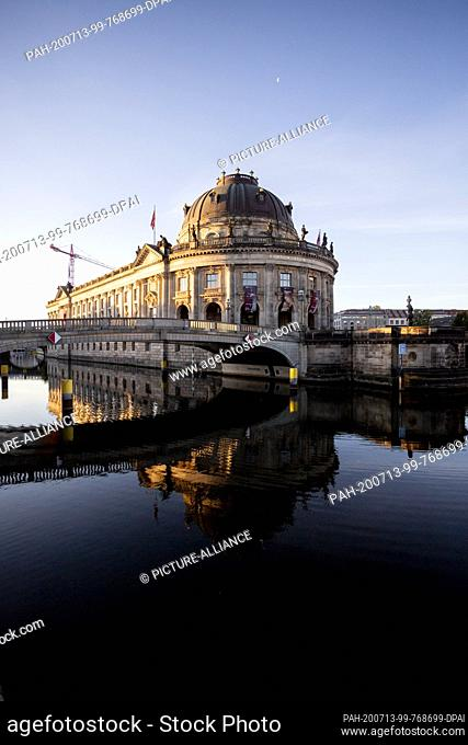 13 July 2020, Berlin: The Bode-Museum can be seen in the light of the rising sun. After two years of evaluation of the Prussian Cultural Heritage Foundation...