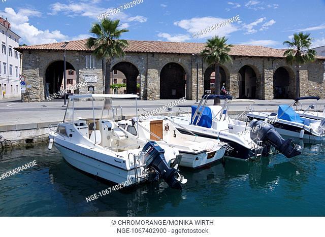 Koper, Region Primorska, Adriatic coast, Istrien peninsula, Slovenia, Europe