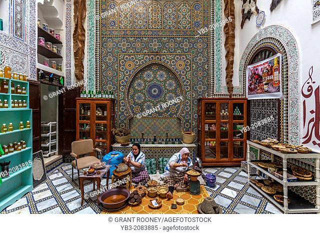 Women Making Argan Oil, Fez, Ethiopia