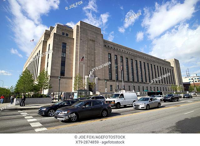 united states post office main branch Philadelphia USA