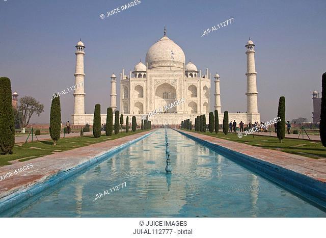 Taj Mahal, Agra, Uttar Pradesh, India, South Asia
