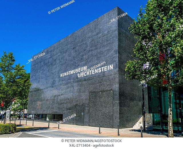 Museum of Art, Vaduz, Principality of Liechtenstein, Europe