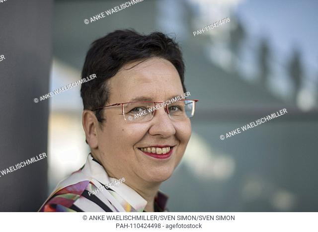 Ute SCHAEFFER, Germany, journalist, author, on 12.10.2018 Frankfurt Book Fair 2018 from 10.10 - 14.10.2018 in Frankfurt am Main / Germany