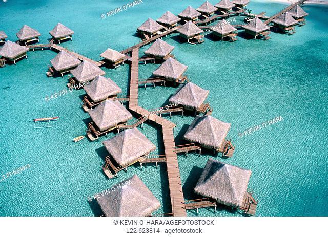 Bora Bora Island. Society Island. French Polynesia