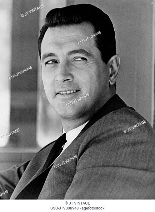 Actor Rock Hudson, Universal Pictures Publicity Portrait for the Film, Strange Bedfellows, 1965