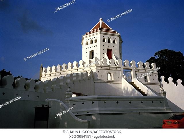 Phra Sumen Fort in Bangkok in Thailand in Southeast Asia Far East