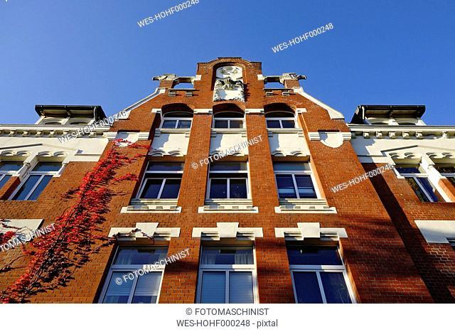 Germany, North Rhine Westphalia, Minden, old building