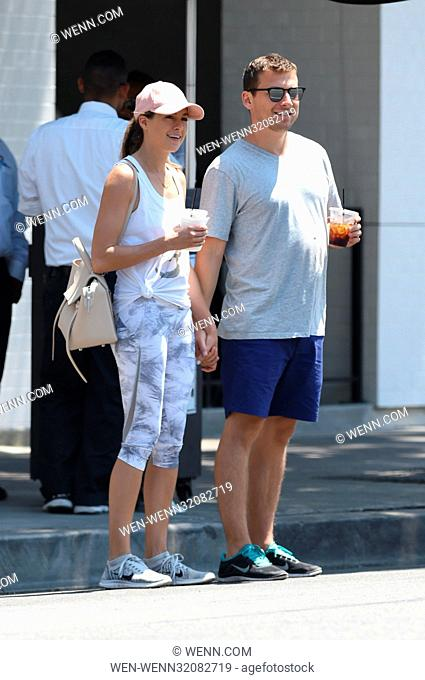 Chloe Bennet and a new mystery boyfriend look happy after lunch Featuring: Chloe Bennet, boyfriend Where: Los Angeles, California