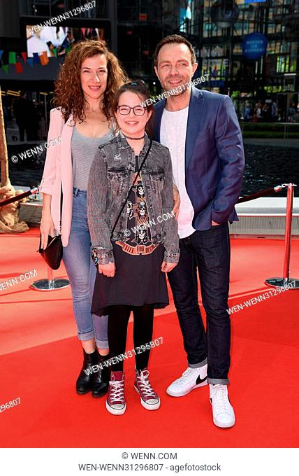 World premiere of the movie 'Conni and Co 2' at CineStar Sony Center at Potsdamer Platz square. Featuring: Aleksandar Jovanovic, Luna Jovanovic Where: Berlin