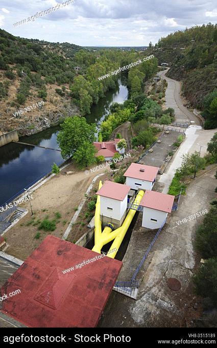 Villar del Rey Reservoir, Badajoz Province, Extremadura, Spain