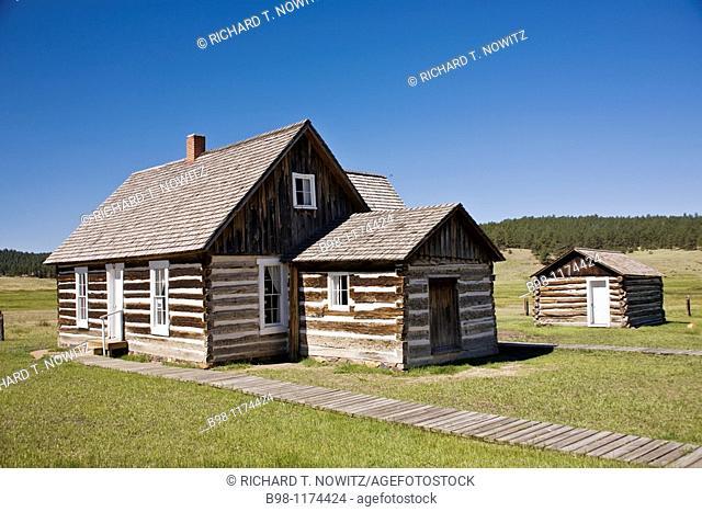 Florissant Fossil Beds, National Monument, historic hornbek homestead