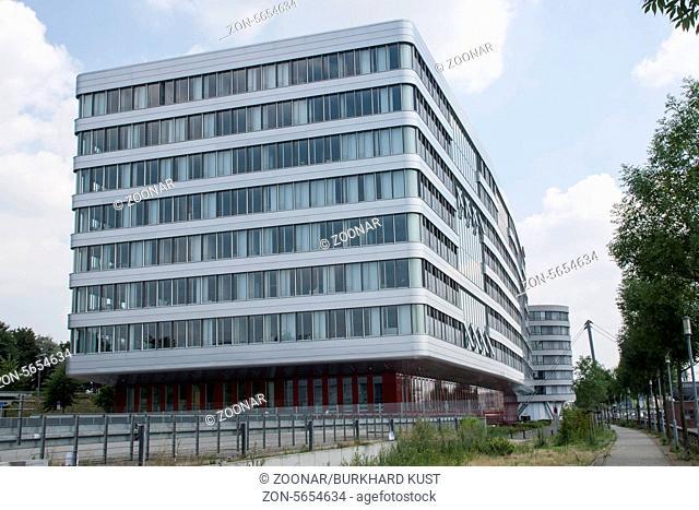 Hitachi office building, Inner harbor Duisburg, Ge