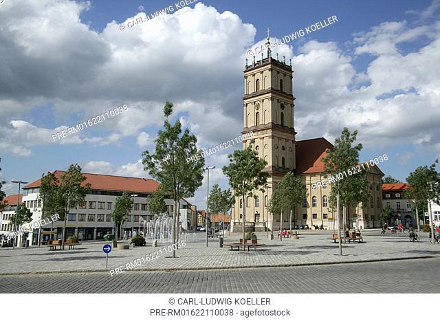 City church, Neustrelitz, Mecklenburgische Seenplatte district, Mecklenburg-Vorpommern, Germany / Stadtkirche Neustrelitz, Neustrelitz, Mecklenburg-Vorpommern