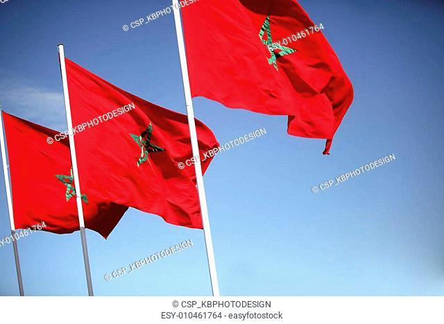 Moroccon flags