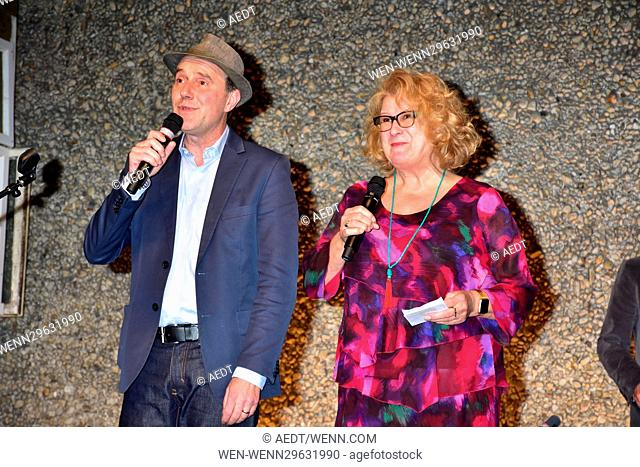Robert Wilson's 75th birthday dinner at Berliner Festspiele. Featuring: Stefan Kurt, Traute Hoess Where: Berlin, Germany When: 04 Oct 2016 Credit: AEDT/WENN
