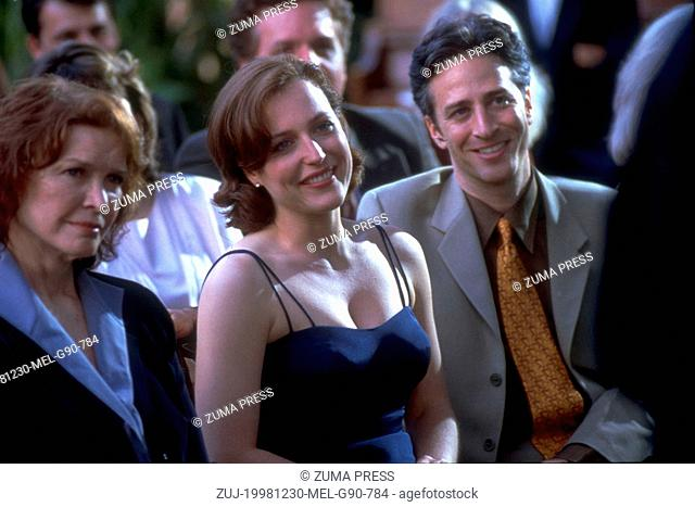 Dec 30, 1998; Los Angeles, CA, USA; GILLIAN ANDERSON and JON STEWART star as Meredith and Trent in the romantic drama 'Playing By Heart' directed by Willard...