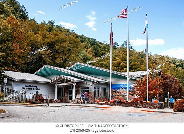 Gatlinburg Welcome Center in Tennessee