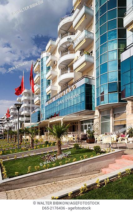 Albania, Vlora, beachfront hotels