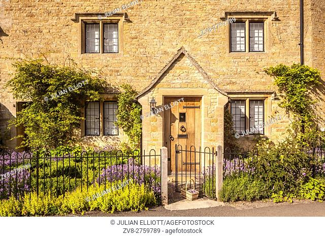 Typical Cotswolds stone house in Lower Slaughter