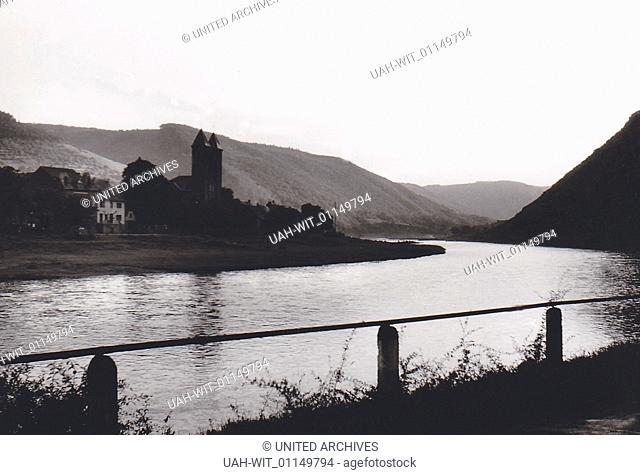 Die Ortschaft Ernst an der Mosel., Sammlung Wittmann