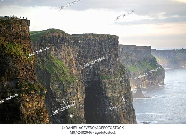 Cliffs of Moher, County Clare, The Burren, Ireland, Europe