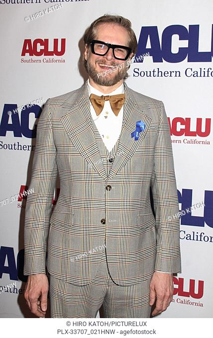 Brian Fuller 11/11/2018 The ACLU SoCal's Annual Bill of Rights Dinner held at The Beverly Wilshire Hotel in Beverly Hills