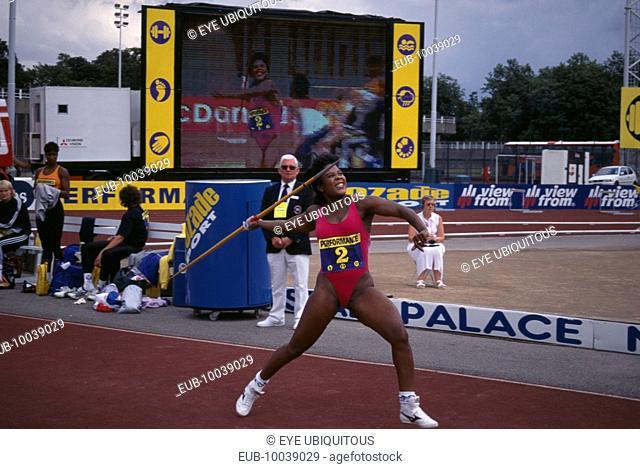 Tessa Sanderson British Javelin thrower