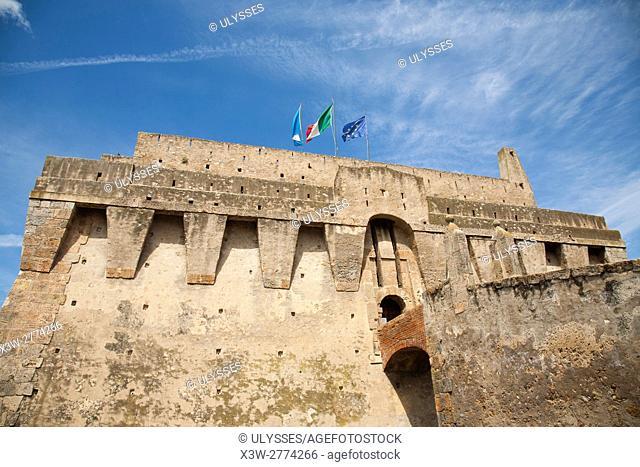 La Rocca, Porto Santo Stefano, Argentario, Tuscany, Italy, Europe