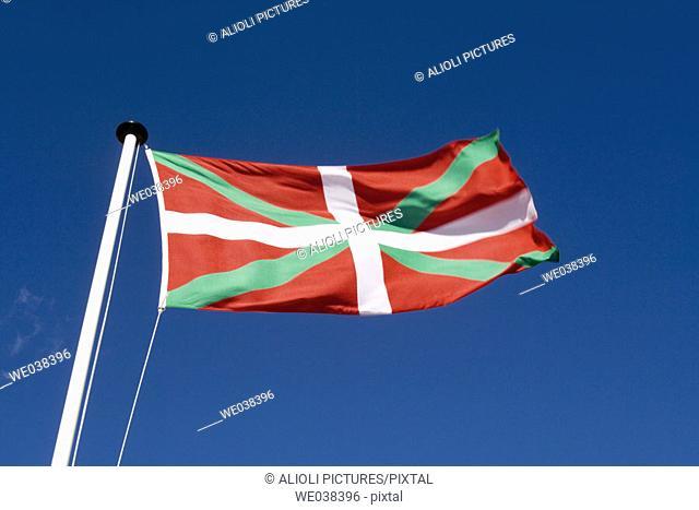 'Ikurriña' (Basque flag)