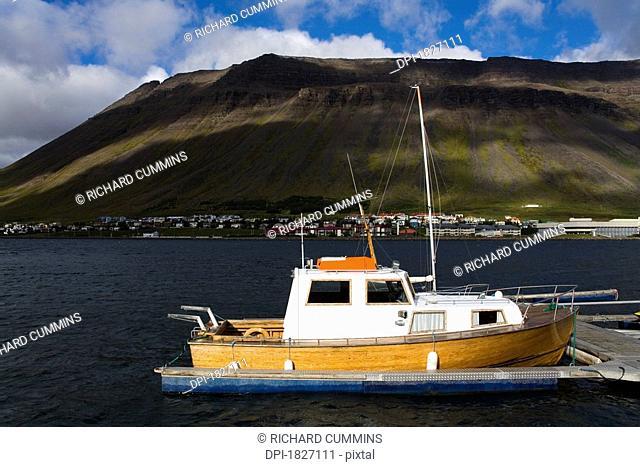 Port of Isafjordur, West Fjords Region, Iceland