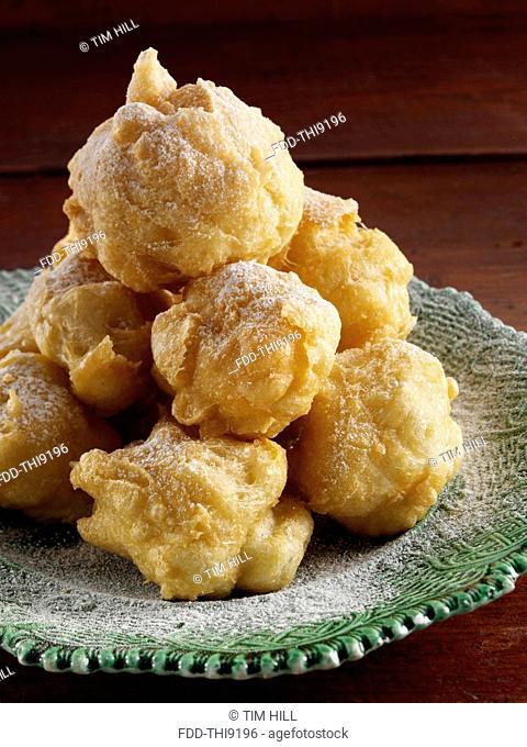 Zeppole fluffy Italian beignets