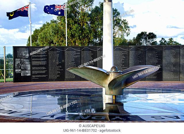 The HMAS Sydney Memorial, Geraldton, Australia