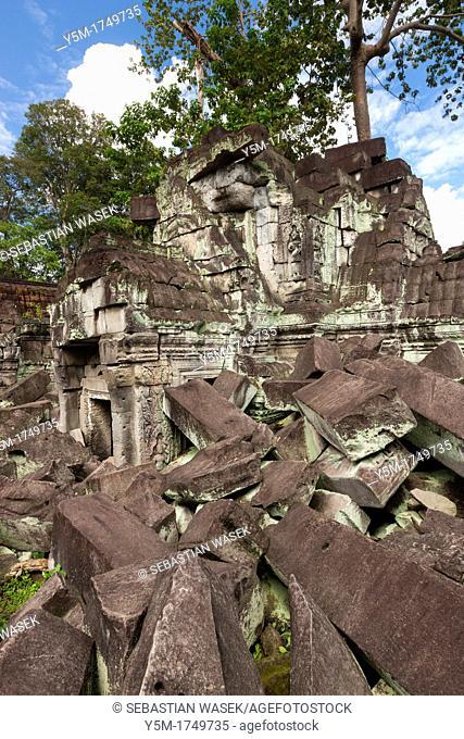 Preah Khan Sacred Sword, Angkor, UNESCO World Heritage Site, Cambodia, Indochina, Southeast Asia, Asia