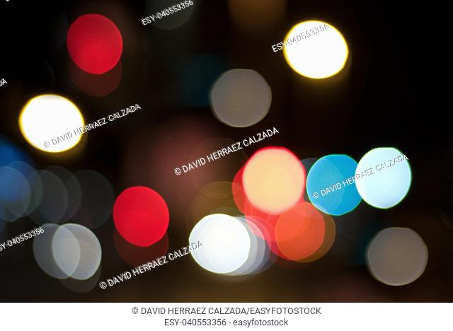 Abstract bokeh ligths background