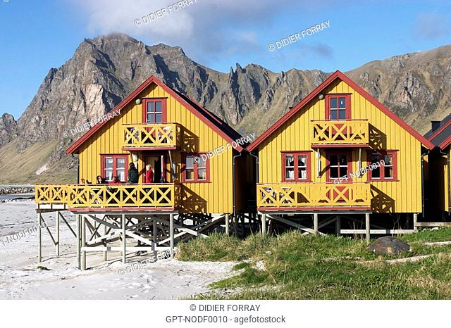 ABANDONED HOUSES, LANGOYA ISLAND, VESTERALEN ARCHIPELAGO, NORWAY