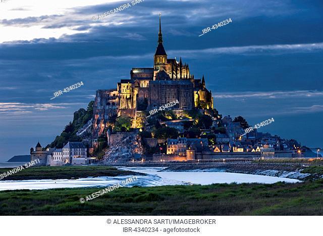 Mont Saint-Michel, Le Mont-Saint-Michel, Manche department, Normandy, France