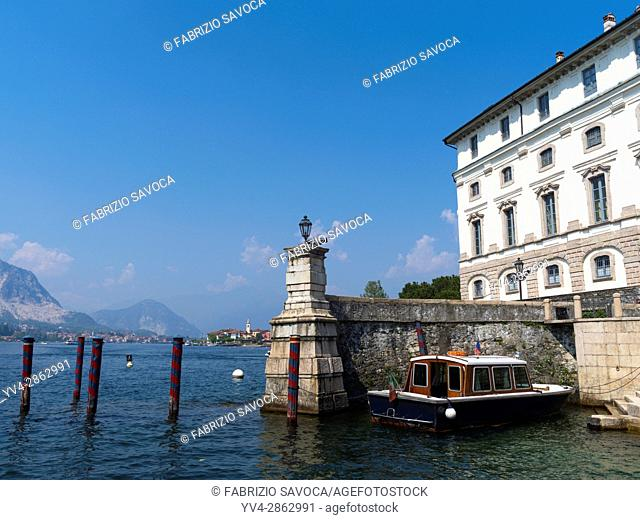 Isola Bella is one of the Borromean Islands of Lago Maggiore in north Italy. It is 320 metres long by 400 metres wide