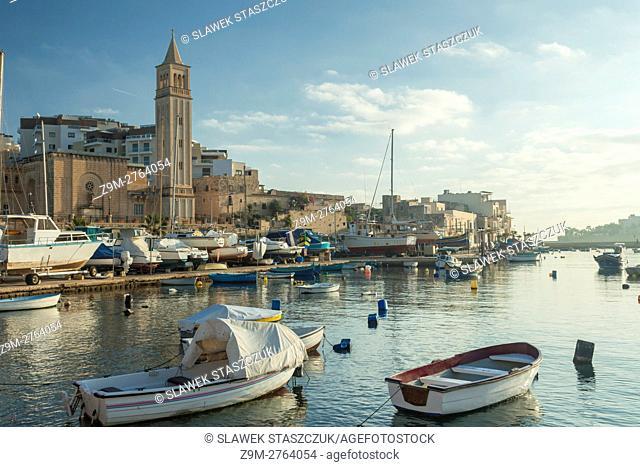 Morning in Marskaskala, Malta