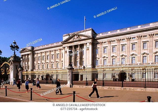 Buckingham Palace. London. England. UK