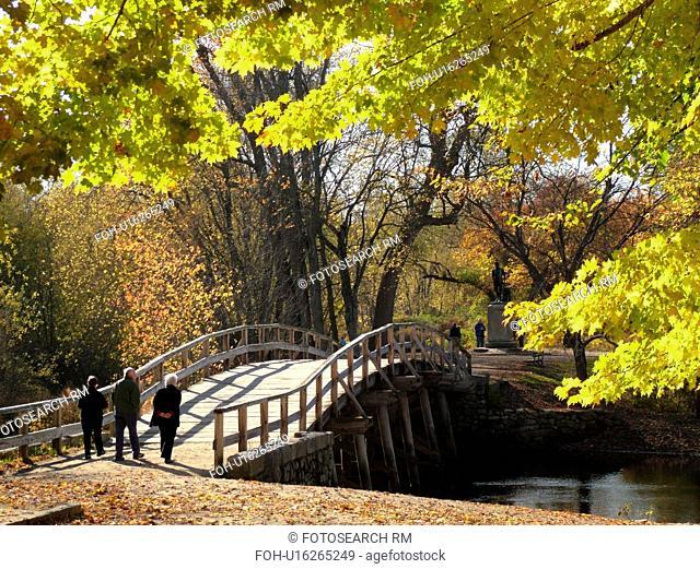 Concord, MA, Massachusetts, Lexington, Minute Man National Historical Park, North Bridge