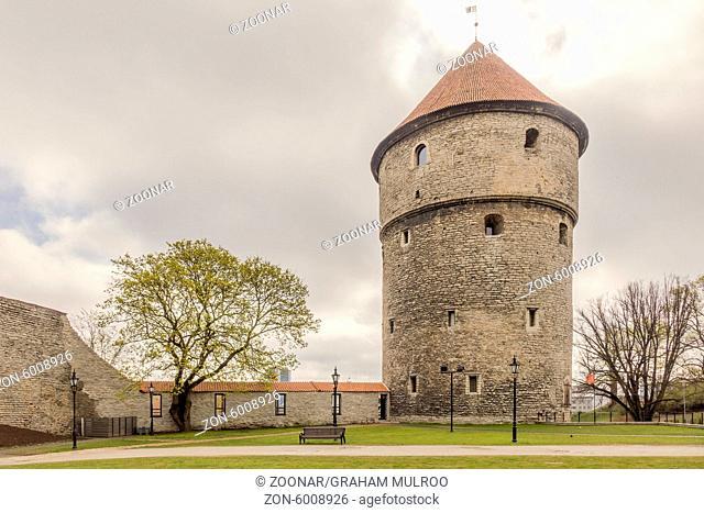 Peep into the Kitchen Tower Tallinn Estonia