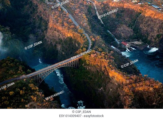 Bridge over the Zambezi River Gorge