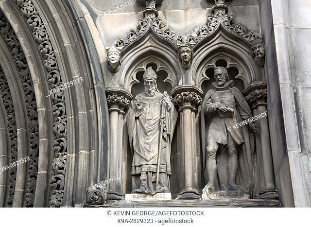 St Giles Cathedral Church Facade, Royal Mile; Lawnmarket; Edinburgh; Scotland