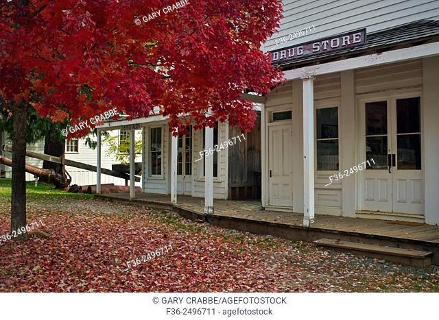North Bloomfield, Malakoff Diggins State Historic Park, California