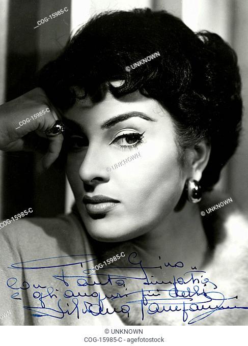 The Italian actress Silvana Pampanini