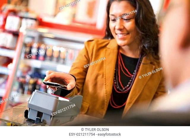 Pay with Cell Phone