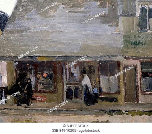 Rocky Neck, My Studio Martha Walter 1875-1976 American David David Gallery, Philadelphia